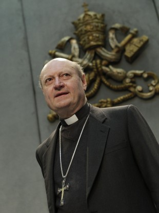 Cardinal Gianfranco Ravasi told a conference in Rome that priests need to avoid becoming 'irrelevant'.