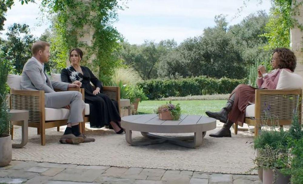 Meghan and Harry interviewed Oprah Winfrey