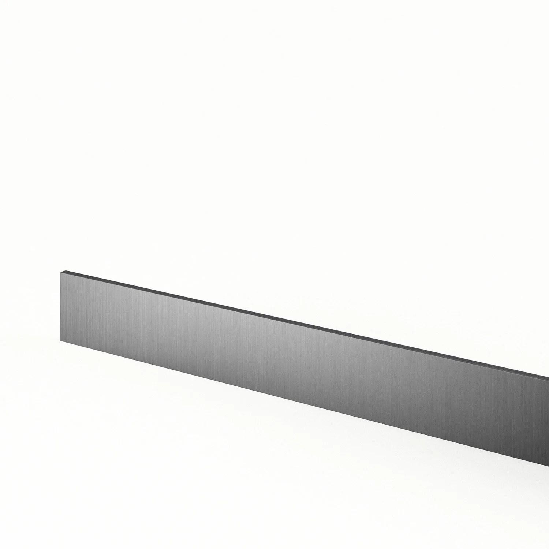 plinthe de cuisine decor aluminium stil l 270 x h 14 9 cm