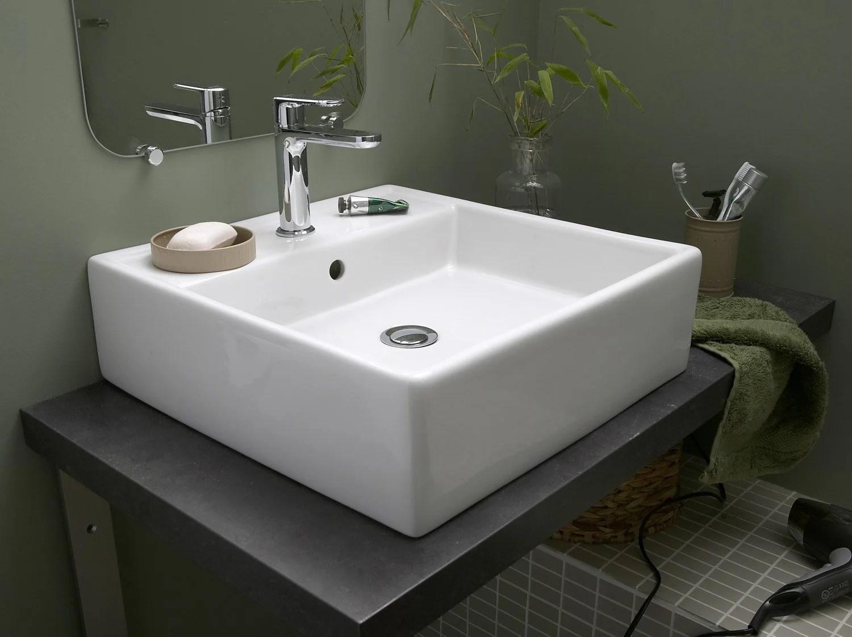 Installer Un Lavabo Ou Une Vasque Leroy Merlin
