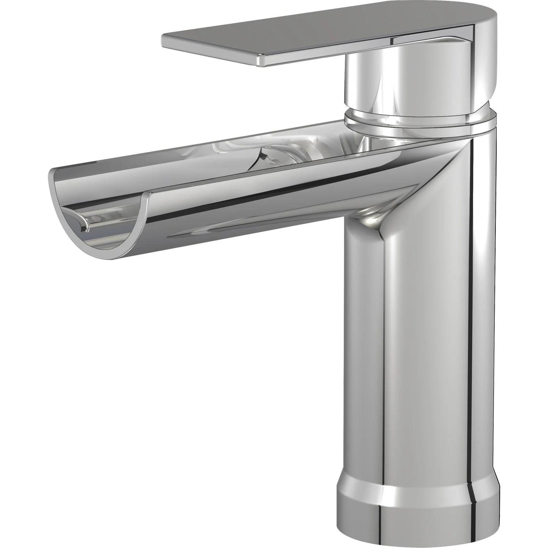 mitigeur de lavabo chrome cascato