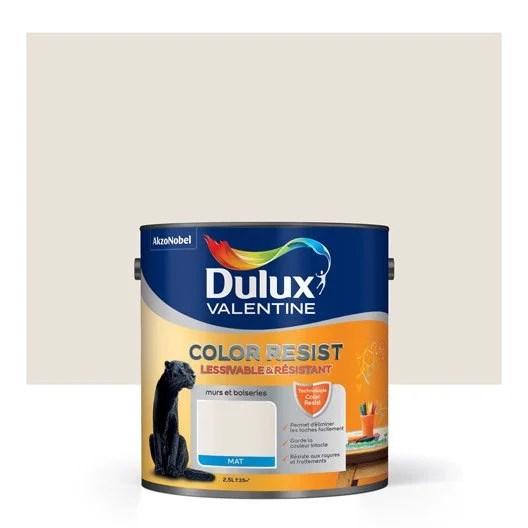 Perfect Peinture Marbre Blanc Dulux Valentine Color Resist