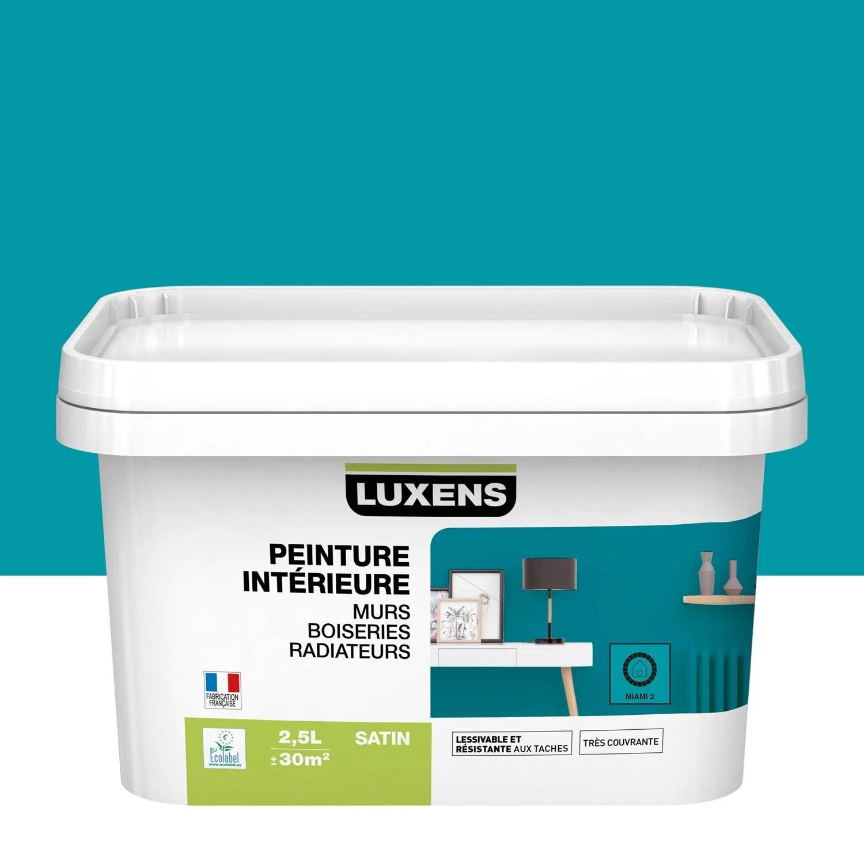 Peinture Mur Boiserie Radiateur Toutes Pieces Multisupports Luxens Miami 2 S Leroy Merlin