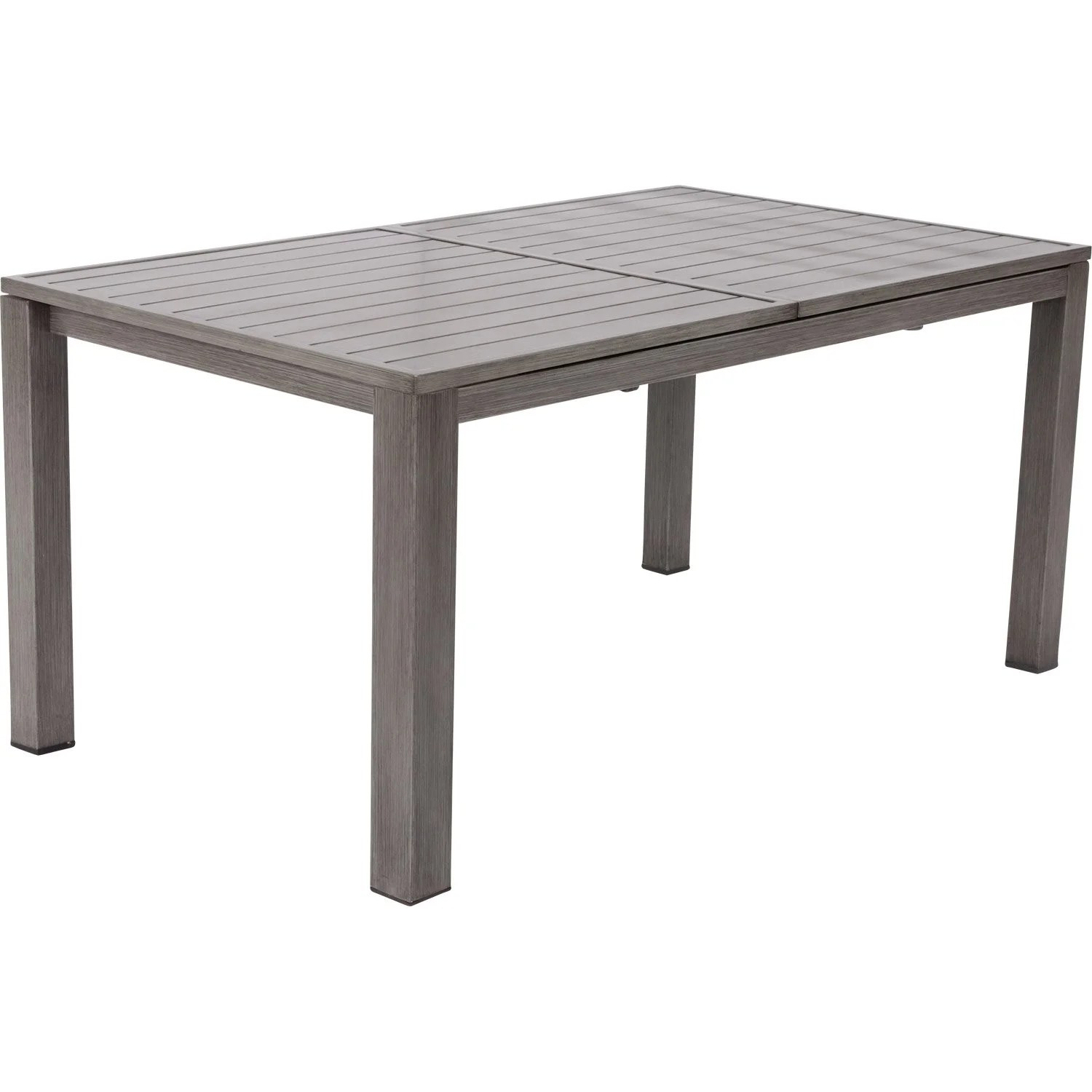 Awesome Table Metal De Jardin A Allonges Nismo Contemporary ...