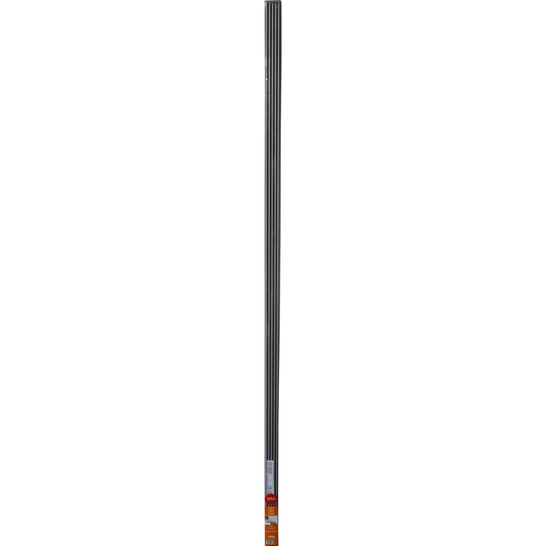 Lot De 5 Tubes Inox 316l Gris Argent Acier Inoxydable D 10mm L 2 M Leroy Merlin