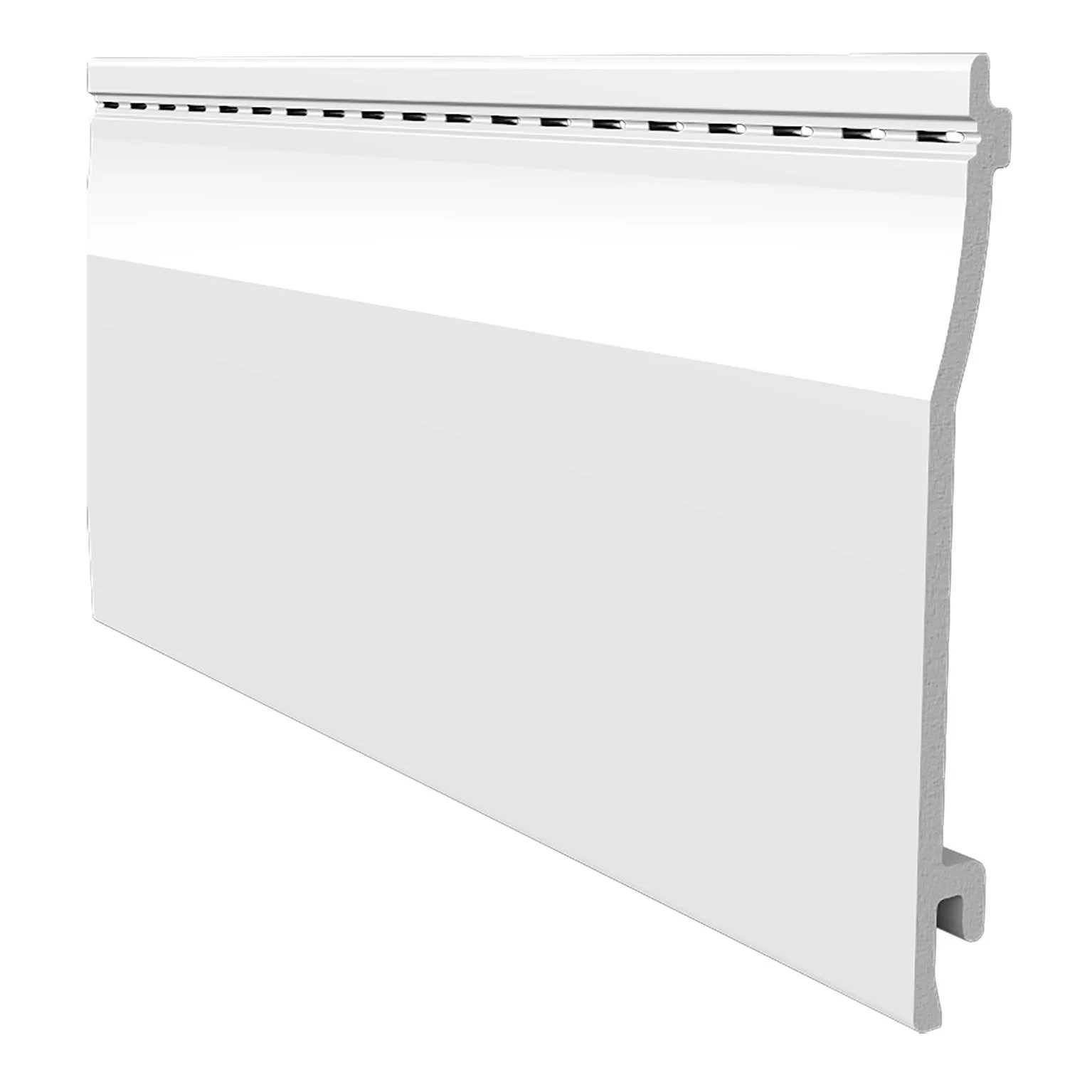 Clin Pour Bardage Blanc Freefoam Solid Country Lisse 3 95 M Leroy Merlin