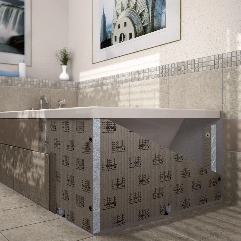 habillage de baignoire h 60 cm x l 186 cm lux elements