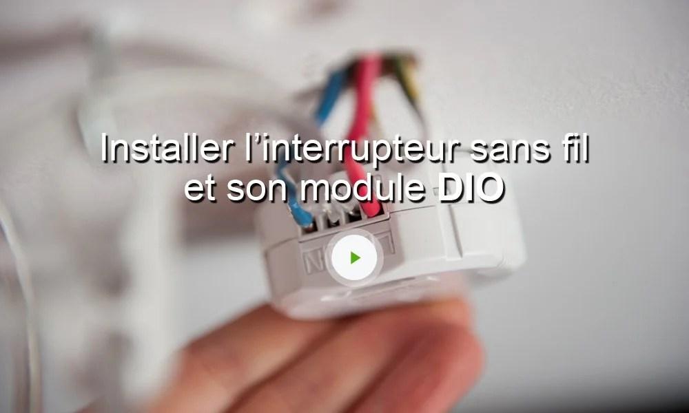 Interrupteur Sans Fil DIO Leroy Merlin