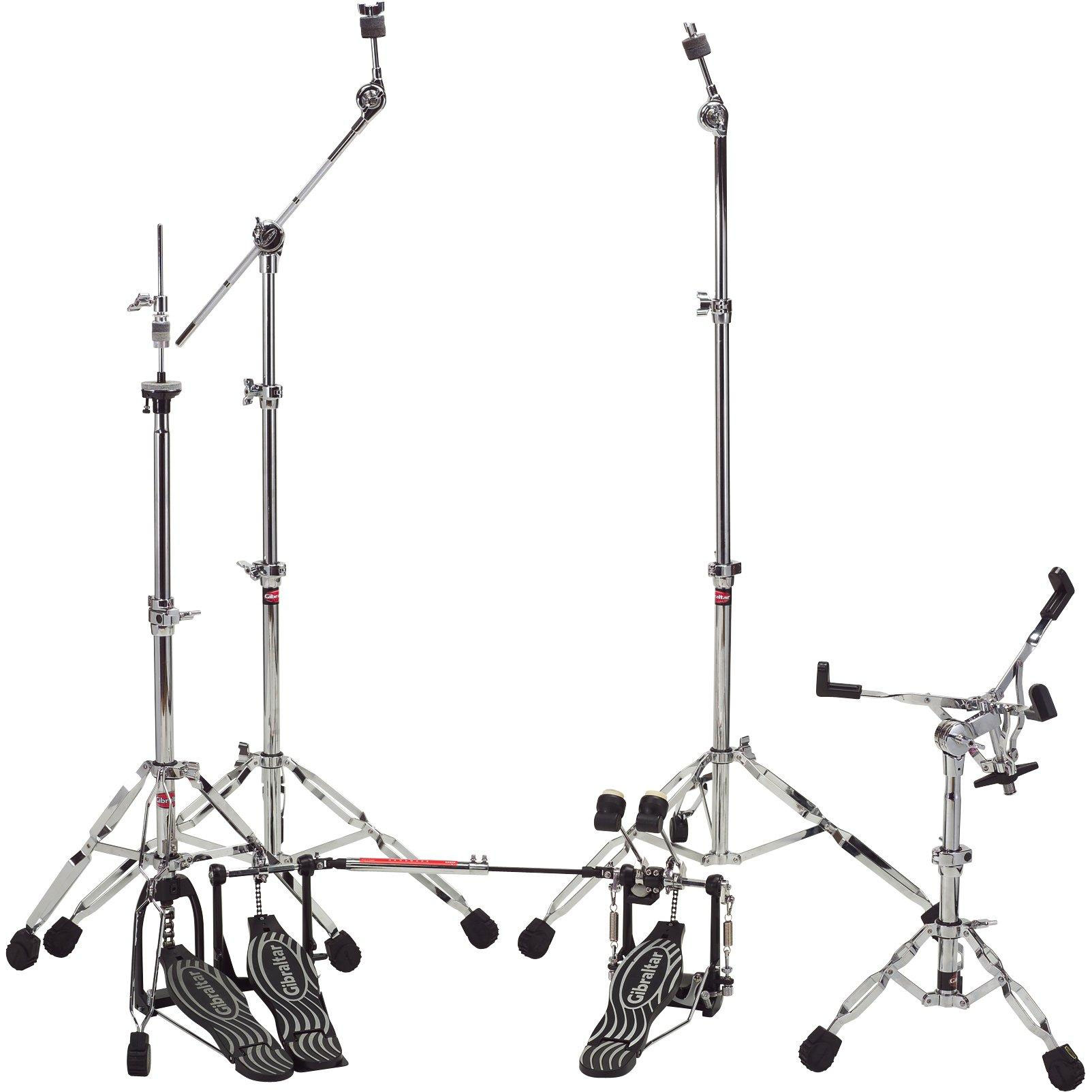 Gibraltar Double Braced Hardware Pack With Double Bass Drum Pedal Dbpk