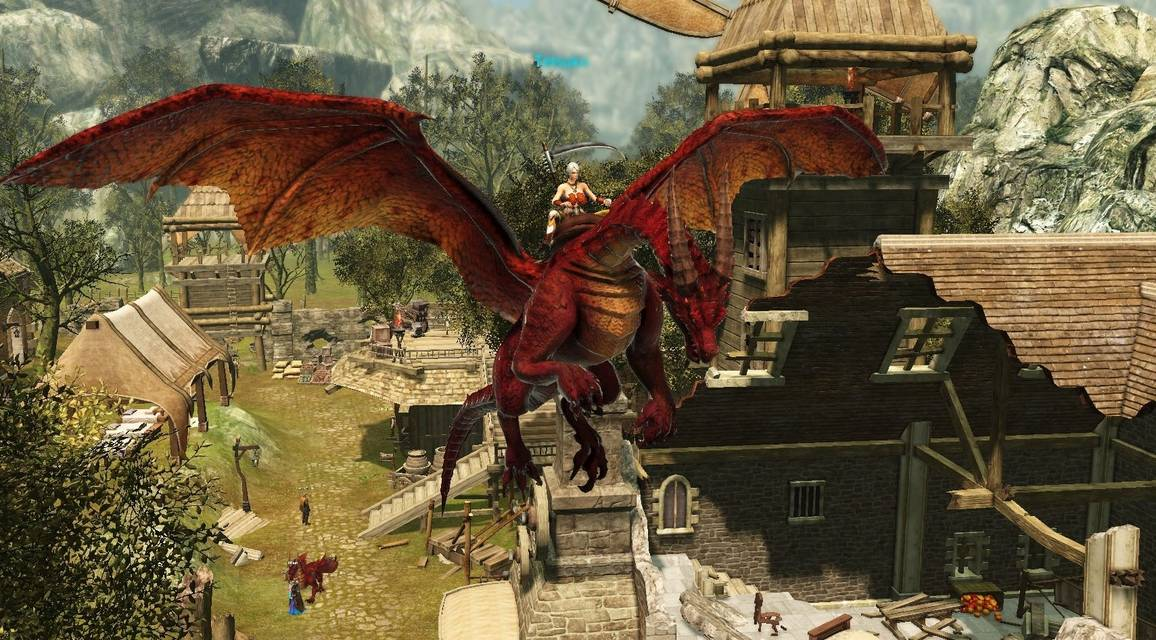 Review of Savage Hunt   Dragon s Prophet   MMO   MMORPG Games Screenshots  click to enlarge