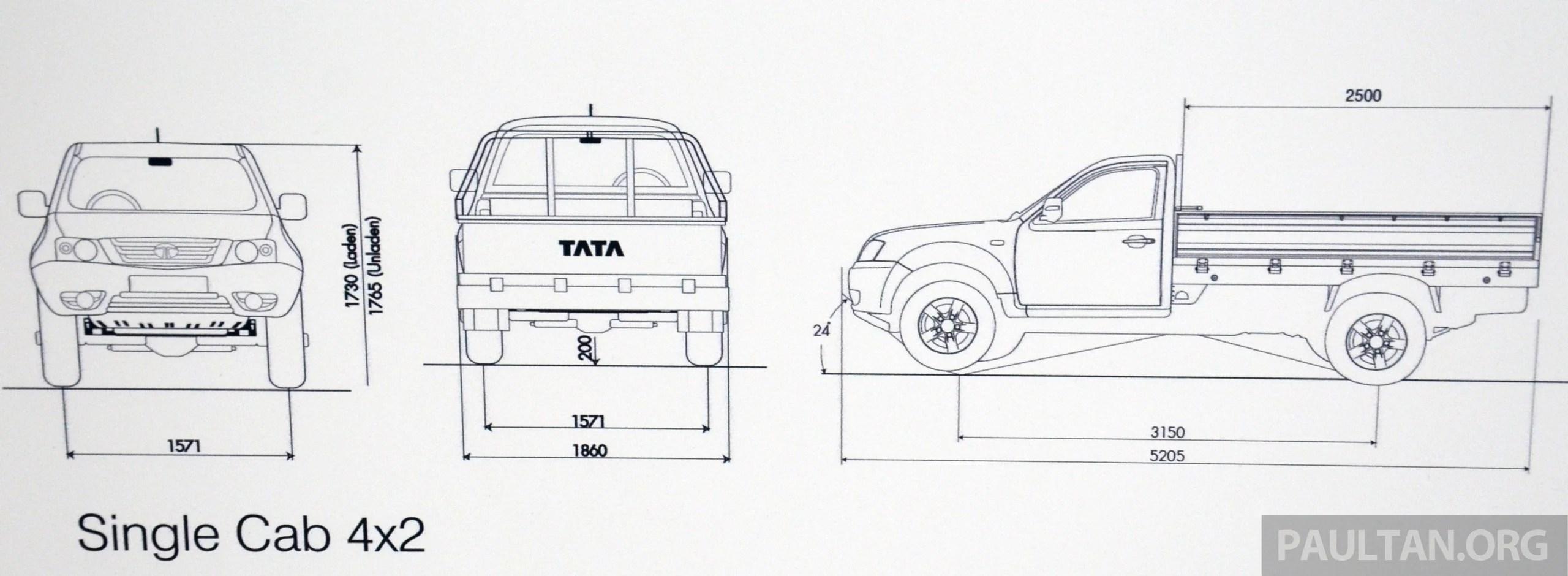 Tata Xenon Debuts In Malaysia For Commercial Use Tata
