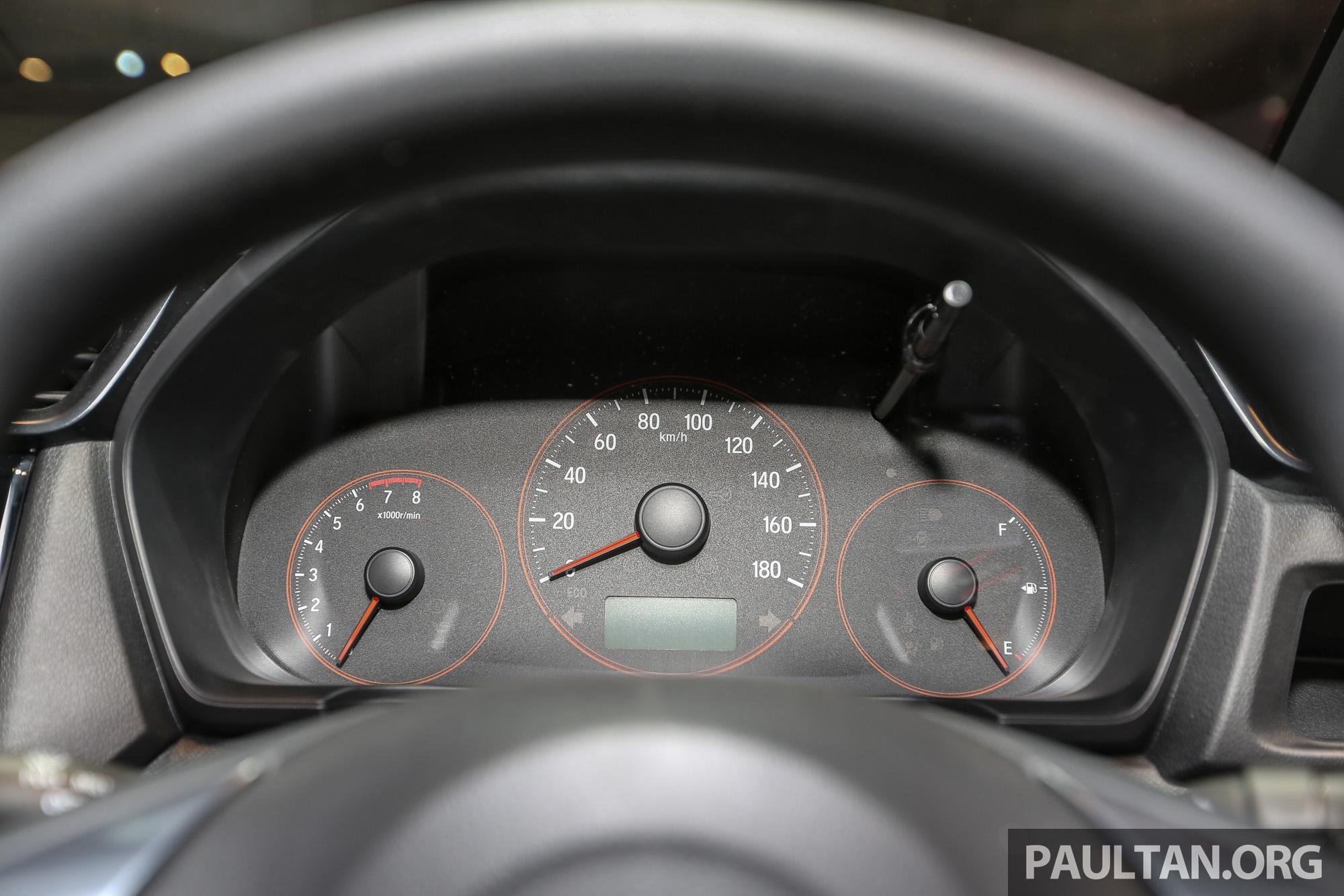 Speedometer Honda Brio RS 2016