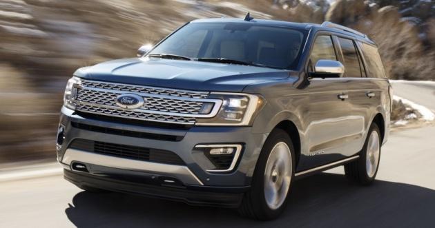 Ford Expedition 2018 – Guna Badan Aluminium, 136 Kg Lebih Ringan