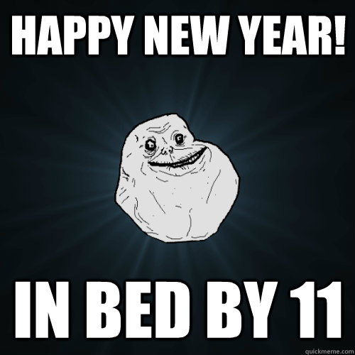 early bedtime for new years