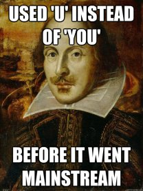 Image result for Shakespeare humorous photos