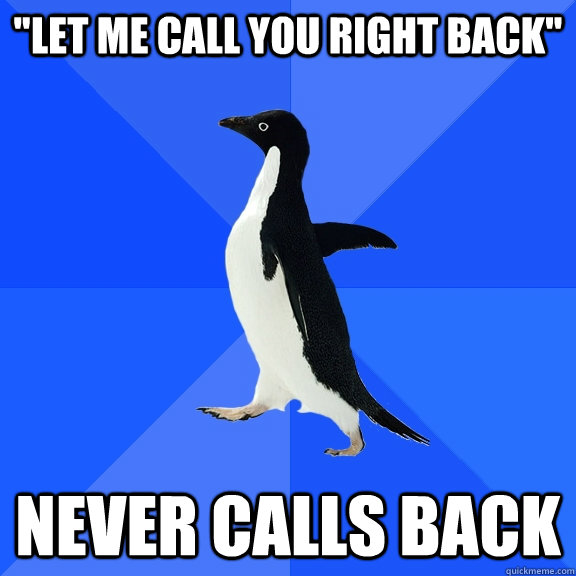 Image result for let me call you back