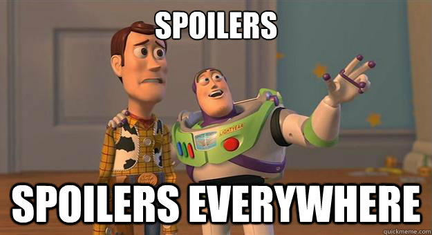 Image result for spoilers everywhere