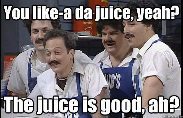 Image result for you lika da juice gif