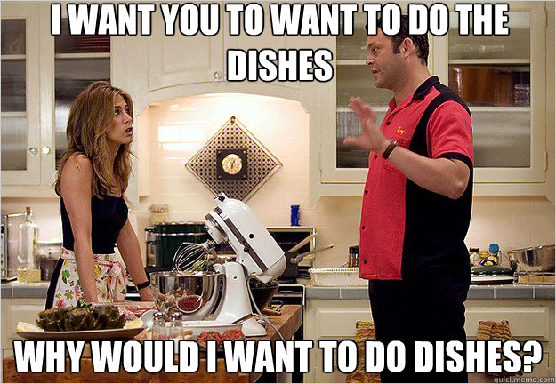 Image result for i want you to want to do the dishes gif