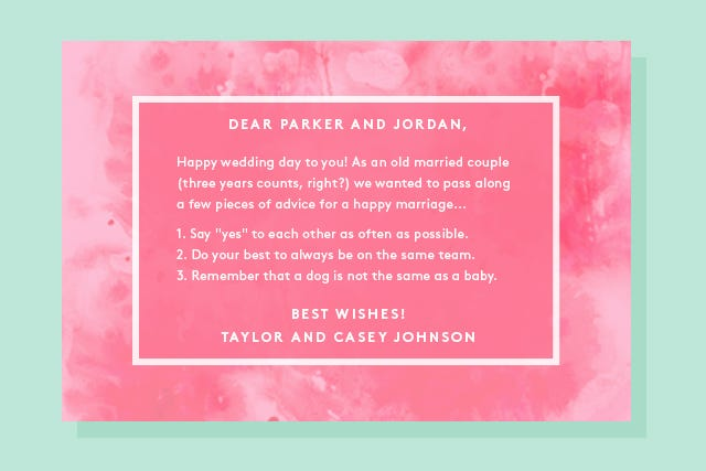 what to write in a wedding card for your brother the best