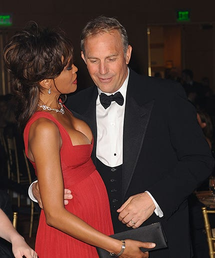 Kevin Costner Bobbi Kristina Brown Whitney Houston