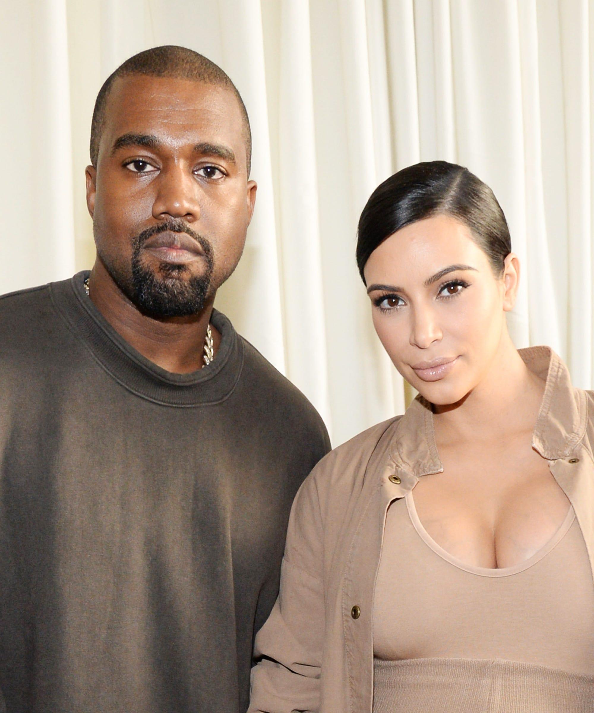 how much kim kardashian and kanye west