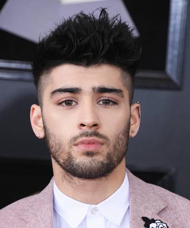 zayn malik blonde hair beard after gigi hadid breakup