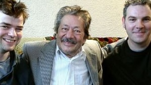 Saeed Jaffrey (C) on the set of Day of the Sirens. Picture: IMDb website.