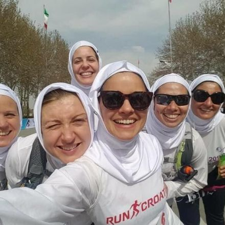 These women weren't allowed to run the Tehran marathon. So they risked arrest to complete their own race instead