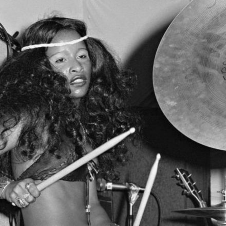 She's the other funky drummer (and every woman, too): Chaka Khan in the 1970s