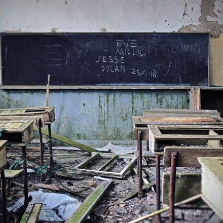 Looking Inside the Abandoned Schools of the Irish Countryside