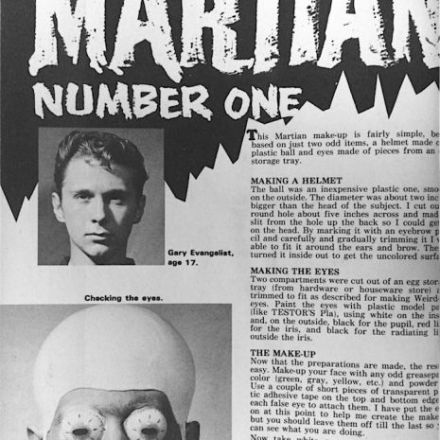 Homemade monsters: DIY horror movie makeup from 1965