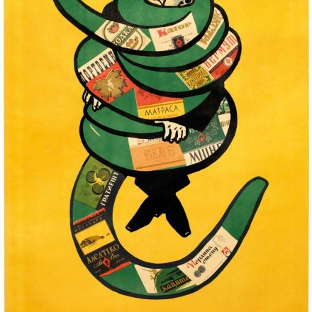 The playful yet sobering anti-alcohol posters of the Soviet Union