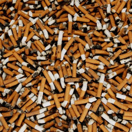 There are nearly 1 billion smokers on earth.
