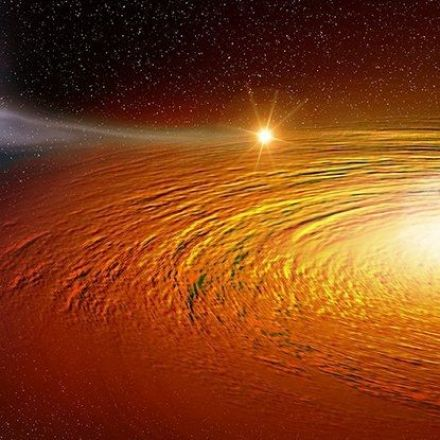 Astronomers Just Found a Star Orbiting a Black Hole at 1 Percent the Speed of Light