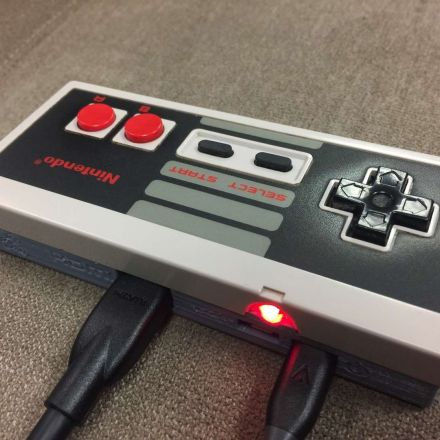 GamePad Zero: a Raspberry Pi Retro Gaming Rig inside an Original NES Controller