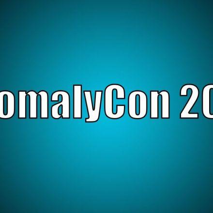 AnomalyCon 2016