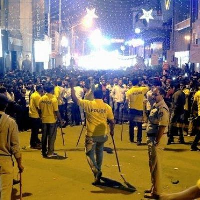 Bangalore police detain six men over New Year's Eve 'mass molestation'