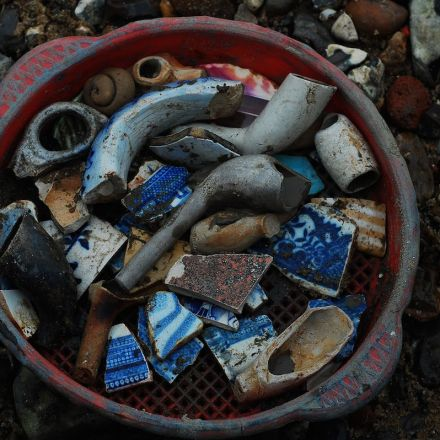 What you can find Mudlarking on the Thames Foreshore in London