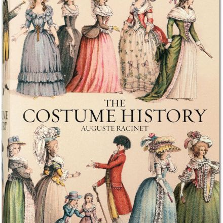 An Intricately Illustrated 19th-Century Study of Global Fashions