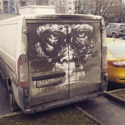 Nikita Golubev Turns Dirty Cars Into Works of Art