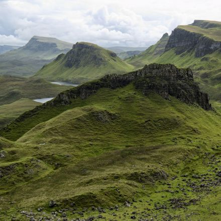 The green of Scotland