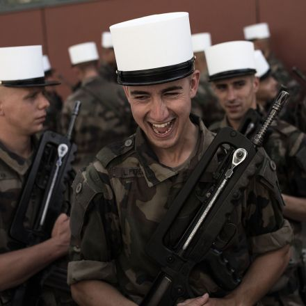 Why young men queue up to die in the French Foreign Legion