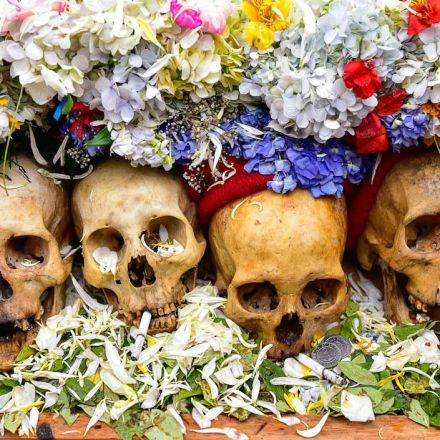 Inside Bolivia's Skull Festival, Where the Dead Get Diamonds and Sunglasses