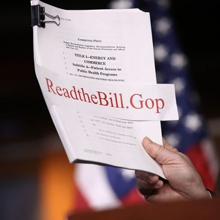 Five Ways The GOP Health Bill Would Reverse Course From The ACA