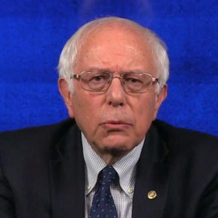"""Bernie Sanders blasts Donald Trump's """"Cabinet of billionaires"""""""