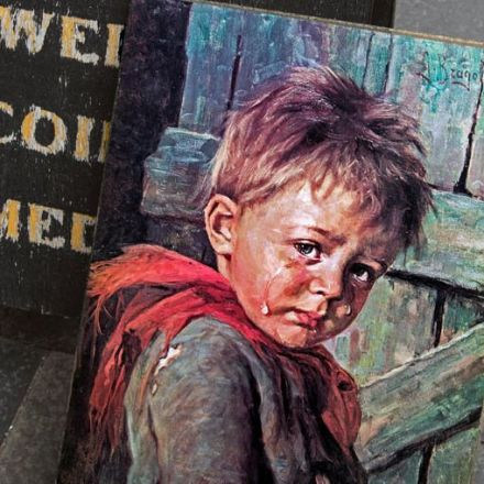 A Painting of a Crying Boy Was Blamed For a Series of Fires in the '80s