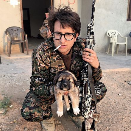 PissPigGranddad, the Punk-Rock Florist Who Fought ISIS in Syria, Is Coming Home