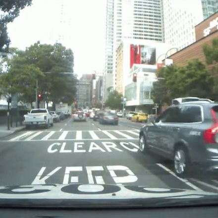 Video appears to show Uber self-driving car running red light in SF