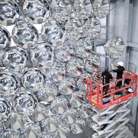 World's largest artificial Sun rises in Germany